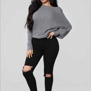 Fashion Nova sweater - brand new!